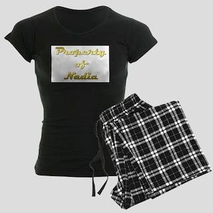 Property Of Nadia Female Women's Dark Pajamas