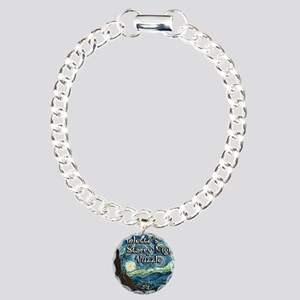 Violettes Charm Bracelet, One Charm
