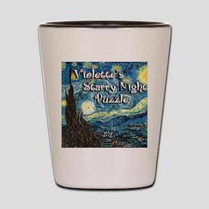 Violettes Shot Glass