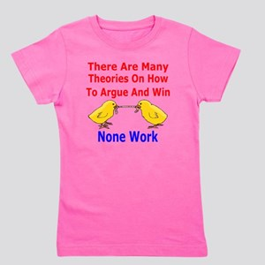How To Argue And Win Girl's Tee