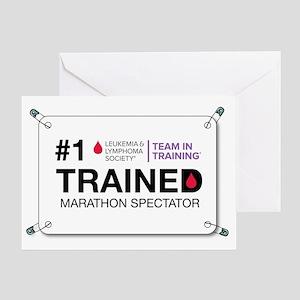 trained bib Greeting Card