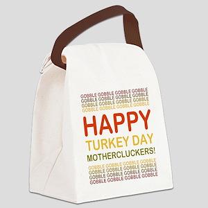 2000x2000happyturkeydaymothercluc Canvas Lunch Bag