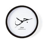 Jen Arabic Calligraphy Wall Clock
