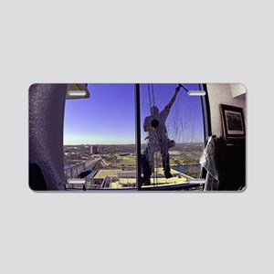 Window Washer004-Poster Aluminum License Plate