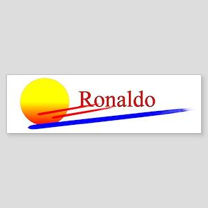 Ronaldo Bumper Sticker