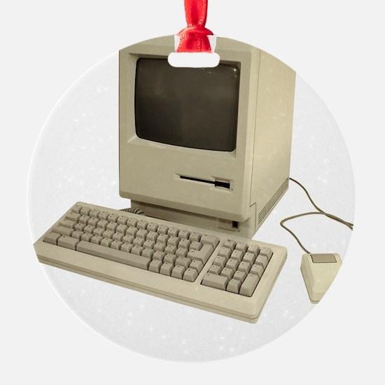 vintage mac Ornament