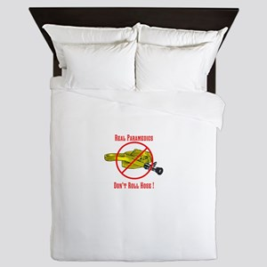 Paramedic shirts and Gifts Queen Duvet