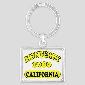 monterey4 copy Landscape Keychain