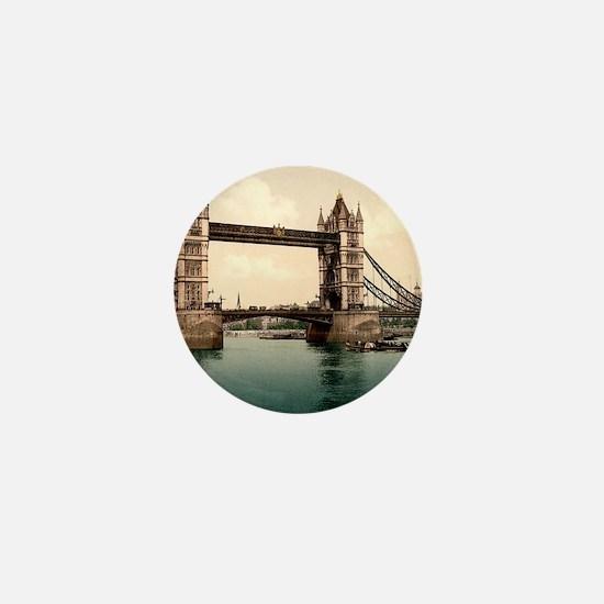 Tower Bridge Mini Button