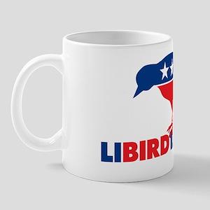 LIBIRDTARIAN Yard Sign Mug