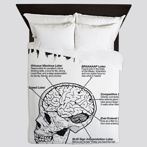 dirtbrain Queen Duvet