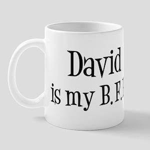 David is my BFF Mug
