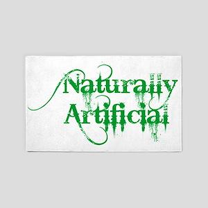 naturally-artificial 3'x5' Area Rug