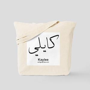 Kaylee Arabic Calligraphy Tote Bag