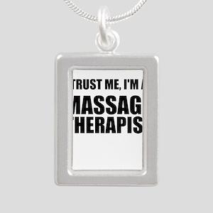 Trust Me, Im A Massage Therapist Necklaces