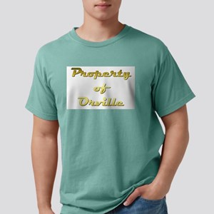 Property Of Orville Male Mens Comfort Colors Shirt