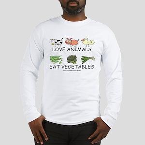 Love Animals Long Sleeve T-Shirt