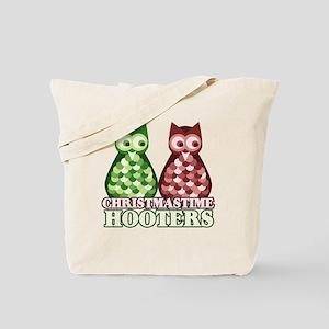 funny adult christmas hooters Tote Bag