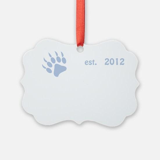 baby bear 2012_dark Ornament