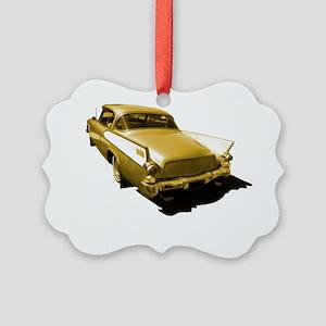 hawk gold 10x10_apparel Picture Ornament