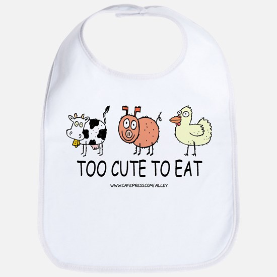 TOO CUTE Bib