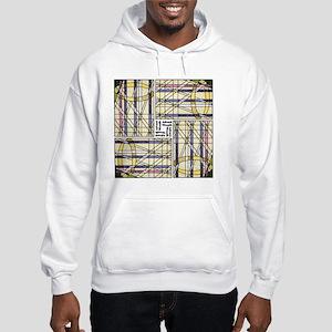 AdventWreathTile02 Hooded Sweatshirt