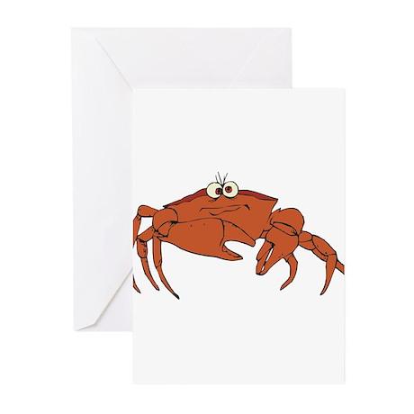 Crab Greeting Cards (Pk of 10)