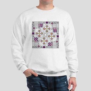 AdventWreathTile02 Sweatshirt