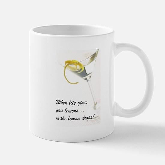 Lemon Drop Martini Mug