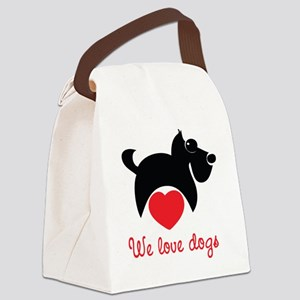sweetdog8 Canvas Lunch Bag