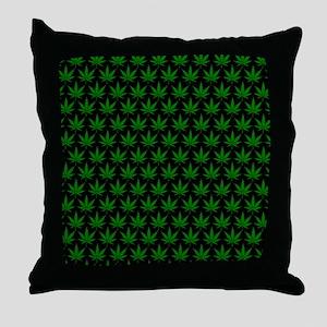 2125x2577flipfloppotleavestiled Throw Pillow