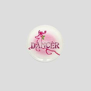 Reindeer Dancer by Danceshirts.com Mini Button