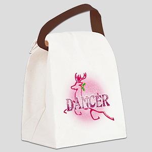 Reindeer Dancer by Danceshirts.co Canvas Lunch Bag