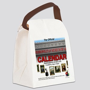 Official Mouseopolitan Museum of  Canvas Lunch Bag