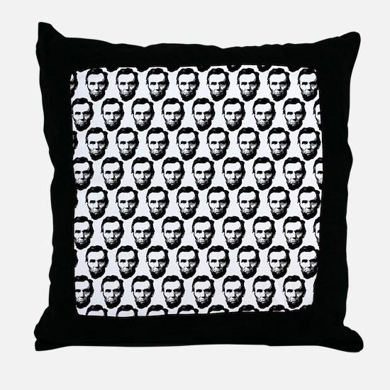 2125x2577flipflopsabrahamlincoln5 Throw Pillow