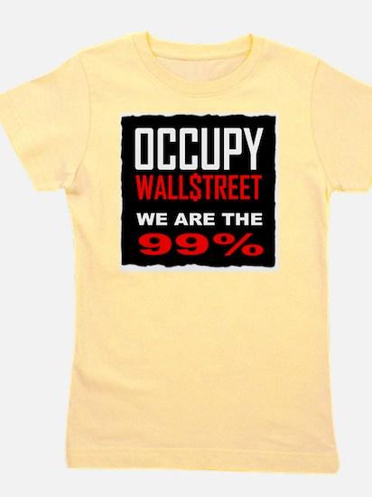 occupywllstrt we are the 99 Girl's Tee