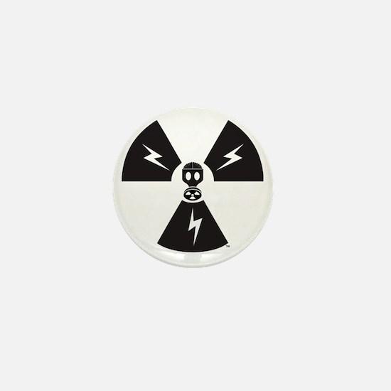 FS Radioactive Black w/ Slogan Mini Button