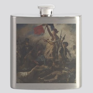 Liberty Leading the People Flask