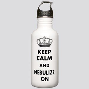 KEEP CALM AND NEBULIZE Stainless Water Bottle 1.0L