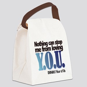 YOU Canvas Lunch Bag