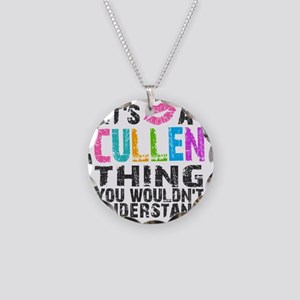 Cullen Thing Colors Necklace Circle Charm