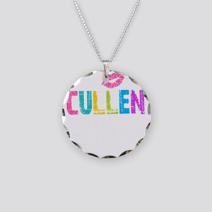 Cullen Thing Colors -dk Necklace Circle Charm