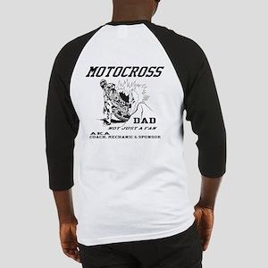 Motocross Dad Baseball Jersey