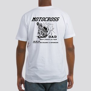 MX Dad Fitted T-Shirt
