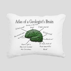 Atlas of a Geologists Br Rectangular Canvas Pillow
