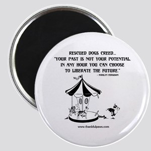 Rescued Dogs Creed Magnet