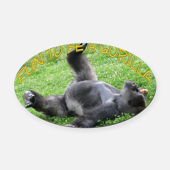 cover final Oval Car Magnet