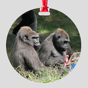 jan 2 Round Ornament
