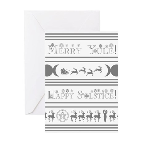 Yule Card Greeting Cards