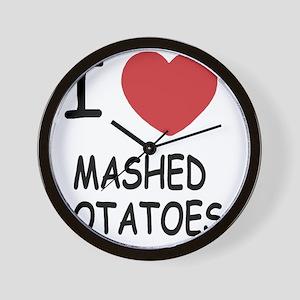 MASHEDPOTATOES Wall Clock